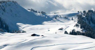 Plateau de Beauregard en raquettes à neige La clusaz