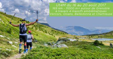 Ultra trail 4 Massifs 2017