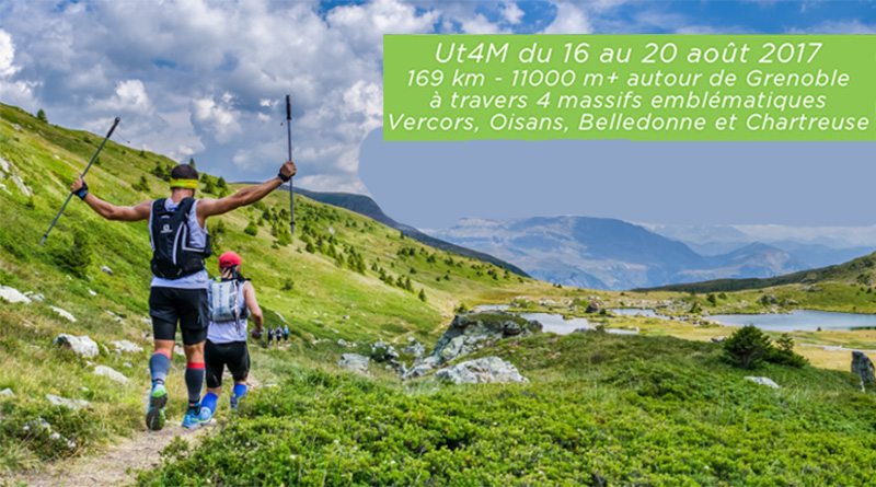 Ultra trail 4 Massifs 2017