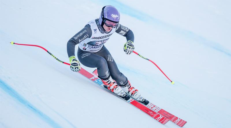 Tessa Worley en ski
