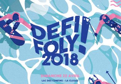Waterslide, Le Défi Foly, dimanche 22 avril