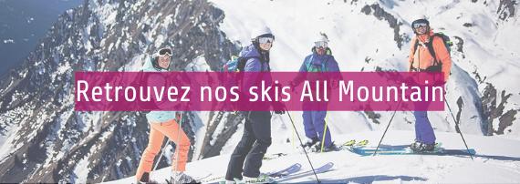 Snowuniverse vous propose une sélection de skis all mountain